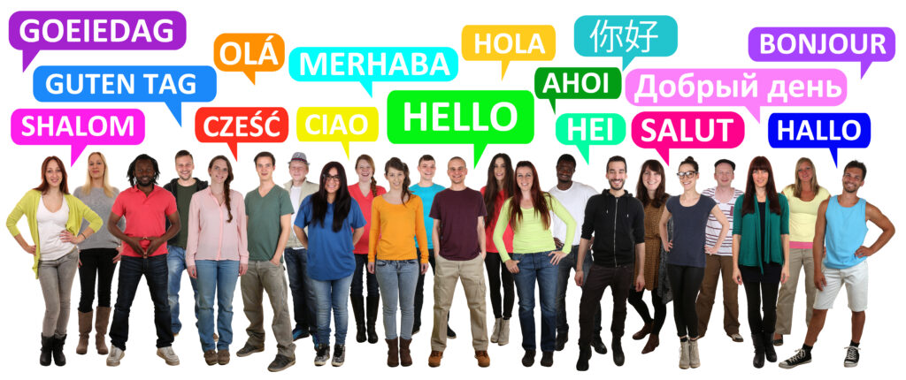 ìntränsōl multicultural and multilingual greetings